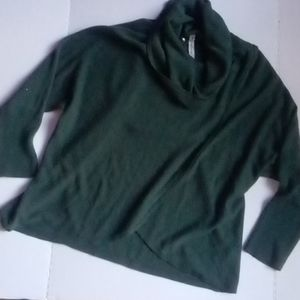 NY Collections Oversized Green Sweater az XL